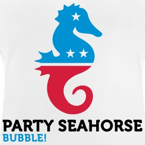 Political Party Animals: Seahorse Hoodies - Baby T-Shirt