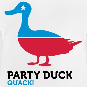 Political Party Animals: Duck Long Sleeve Shirts - Baby T-Shirt