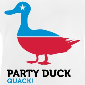 Political Party Animals: Duck Shirts - Baby T-Shirt