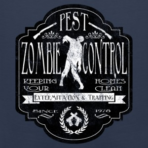 Zombie Pest Control Hoodies & Sweatshirts - Men's Premium Tank Top