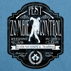 Zombie Pest Control Hoodies & Sweatshirts - Shoulder Bag made from recycled material