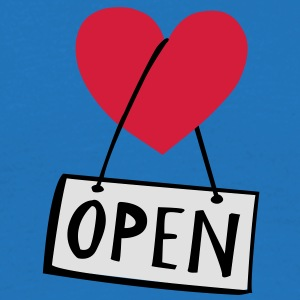LOVEshirt Open heart - Männer T-Shirt