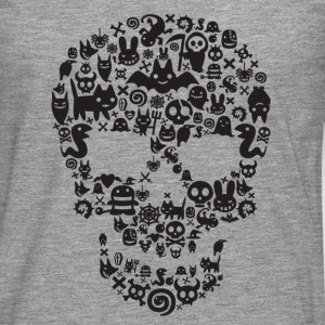 Monsters Skull Tee Shirt - T-shirt manches longues Premium Homme