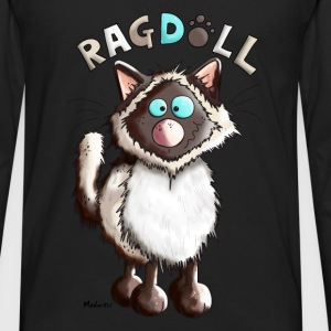 Raya Ragdoll Cat Hoodies & Sweatshirts - Men's Premium Longsleeve Shirt
