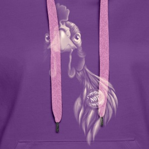 Purple Someone NOT something Tops - Women's Premium Hoodie