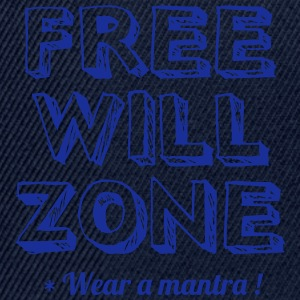 FREE WILL ZONE - Snapback Cap