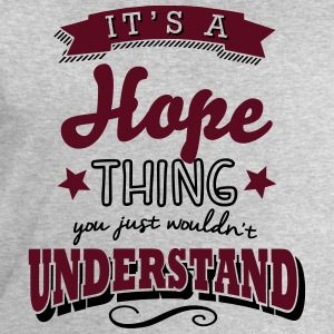 its a hope name surname thing - Men's Sweatshirt by Stanley & Stella