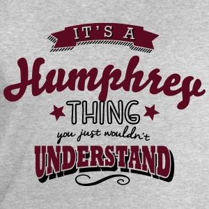 its a humphrey name surname thing - Men's Sweatshirt by Stanley & Stella