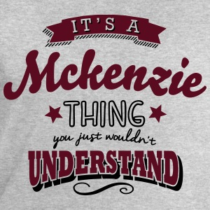 its a mckenzie name surname thing - Men's Sweatshirt by Stanley & Stella