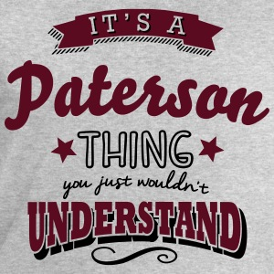 its a paterson name surname thing - Men's Sweatshirt by Stanley & Stella