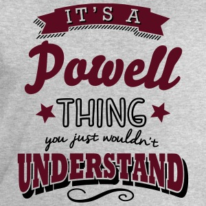 its a powell name surname thing - Men's Sweatshirt by Stanley & Stella