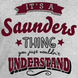 its a saunders name surname thing - Men's Sweatshirt by Stanley & Stella