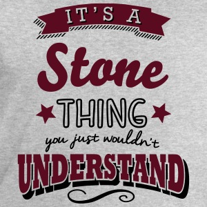 its a stone name surname thing - Männer Sweatshirt von Stanley & Stella