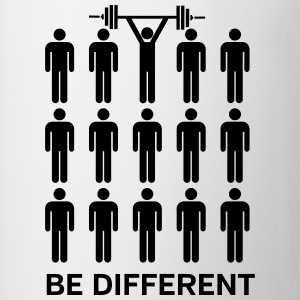 Be Different - Lift Heavy Shit Odzież sportowa - Kubek