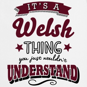 its a welsh name surname thing - Cooking Apron