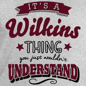 its a wilkins name surname thing - Men's Sweatshirt by Stanley & Stella