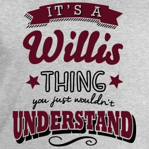 its a willis name surname thing - Men's Sweatshirt by Stanley & Stella