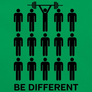 Be Different - Lift Heavy Shit T-shirts - Retro-tas