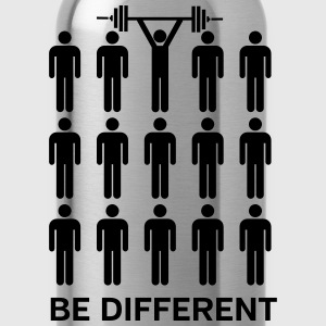 Be Different - Lift Heavy Shit T-shirts - Drinkfles