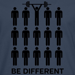Be Different - Lift Heavy Shit Tee shirts - T-shirt manches longues Premium Homme