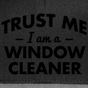NEW trust me i am a window cleaner - Snapback Cap