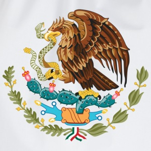 mexico_coat_of_arms Magliette - Sacca sportiva