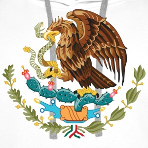 mexico_coat_of_arms T-shirts - Herre Premium hættetrøje