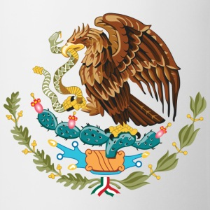 mexico_coat_of_arms Camisetas - Taza