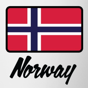 National Flag Norge T-shirts - Kop/krus