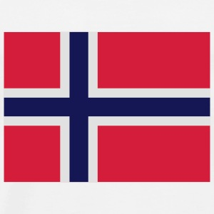 National Flag of Norway Shirts - Men's Premium T-Shirt