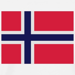 National Flag of Norway Tops - Men's Premium T-Shirt