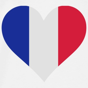 A heart for France Accessories - Men's Premium T-Shirt