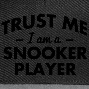 NEW trust me i am a snooker player - Snapback Cap