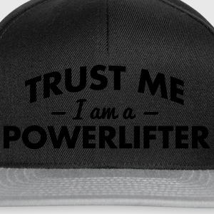 NEW trust me i am a powerlifter - Snapback Cap