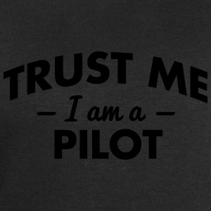NEW trust me i am a pilot - Men's Sweatshirt by Stanley & Stella