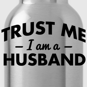 NEW trust me i am a husband - Water Bottle