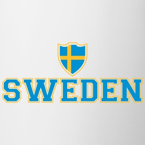 Sweden Shield Tee shirts - Tasse