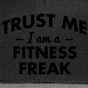 NEW trust me i am a fitness freak - Snapback Cap
