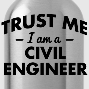 NEW trust me i am a civil engineer - Water Bottle