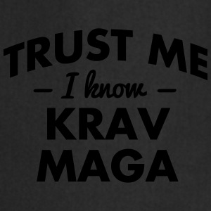 NEW trust me i know krav maga - Cooking Apron