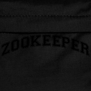 zookeeper college style curved logo - Kinder Rucksack