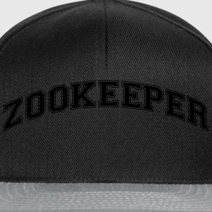 zookeeper college style curved logo - Snapback Cap