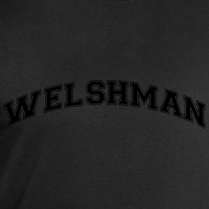 welshman college style curved logo - Men's Sweatshirt by Stanley & Stella