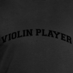 violinist college style curved logo - Men's Sweatshirt by Stanley & Stella