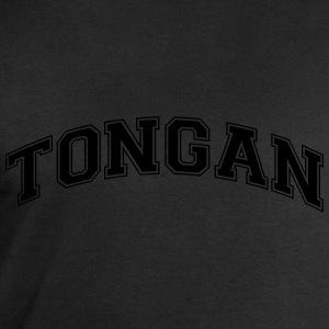 tongan  college style curved logo - Men's Sweatshirt by Stanley & Stella