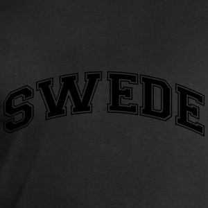 swede college style curved logo - Men's Sweatshirt by Stanley & Stella