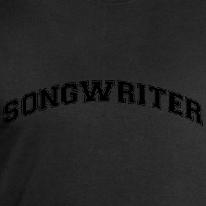 songwriter college style curved logo - Men's Sweatshirt by Stanley & Stella