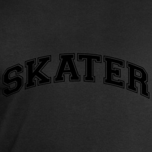 skater college style curved logo - Men's Sweatshirt by Stanley & Stella