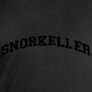 snorkeller college style curved logo - Men's Sweatshirt by Stanley & Stella