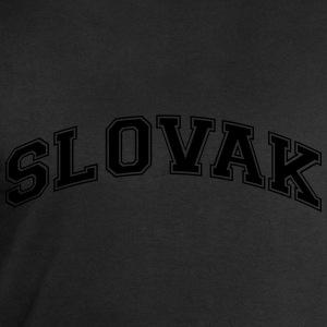 slovak  college style curved logo - Men's Sweatshirt by Stanley & Stella